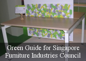 Green Guide for Singapore Furniture Industries Council