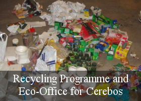Recycling Programme and Eco Office for Cerebos