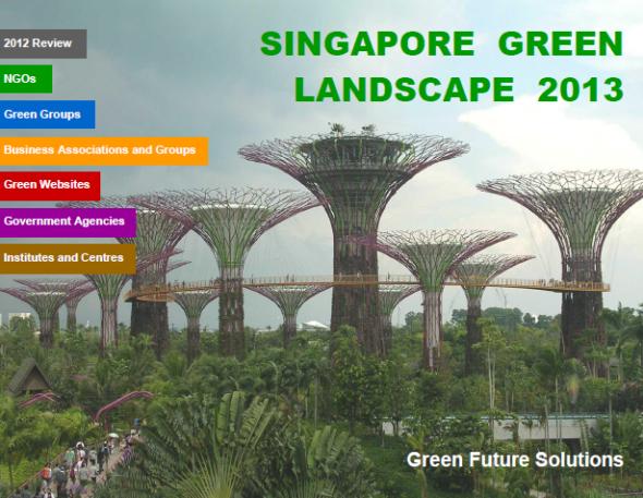 Singapore Green Landscape 2013
