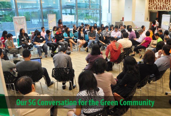 Our SG Conversation for the Green Community - Summary Report