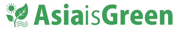 Asia is Green new logo