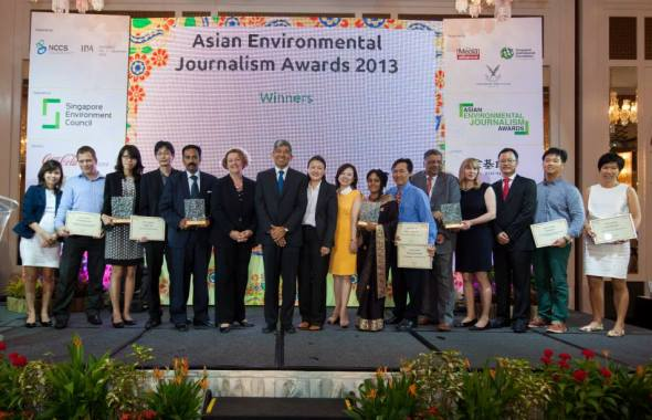 Asian Environmental Journalism Awards 2013