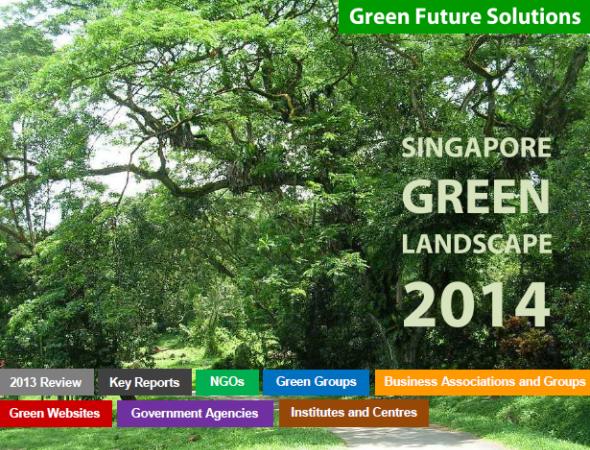 Singapore Green Landscape 2014