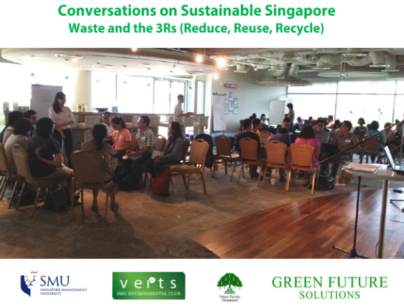 Conversations on Sustainable Singapore (Waste and 3Rs) - report cover