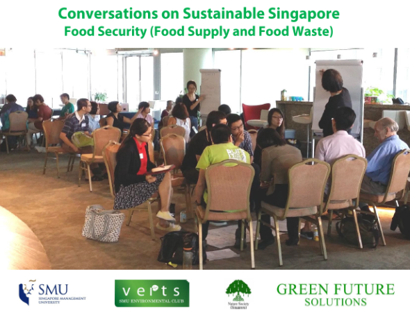 Conversations on Sustainable Singapore (Food Security) cover