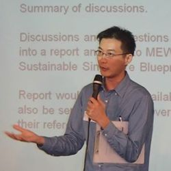 Eugene Tay (Green Future Solutions and Zero Waste SG)