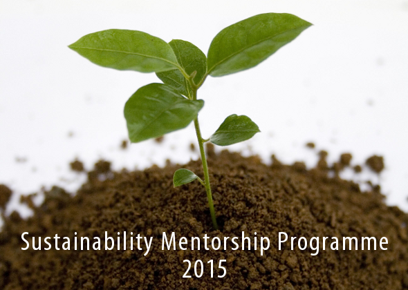 Sustainability Mentorship Programme 2015