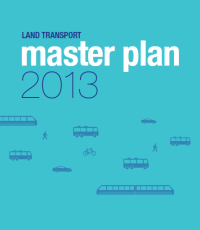 Land Transport Master Plan 2013 (cover)
