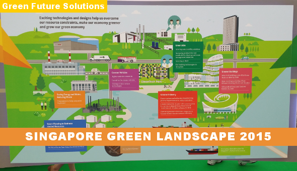 Singapore Green Landscape 2015