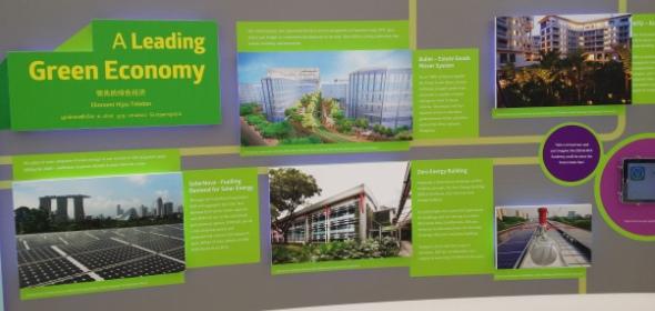Singapore green economy