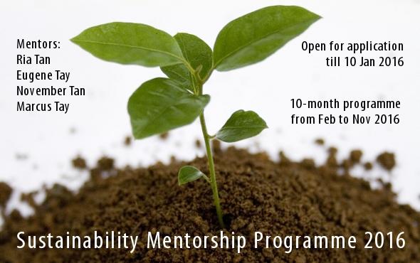 Sustainability Mentorship Programme 2016