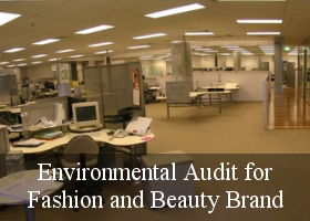 Environmental Audit for Fashion and Beauty Brand
